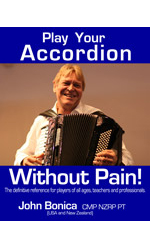 John Bonica Book,Accordion: A Pictorial History Book by Rob Howard,Jacques Mornet Book