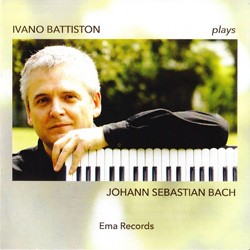 CD Cover: Ivano Battiston plays Johann Sebastian Bach