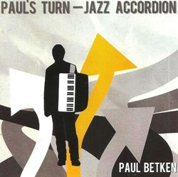 Pauls Turn - Jazz Accordion CD Cover