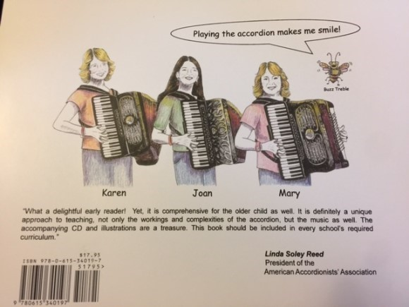 """An Accordion! What Is That?"" back cover"