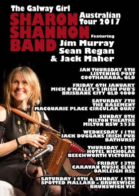 Sharon Shannon Tour