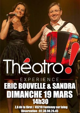 Eric Bouvelle and Sandra poster
