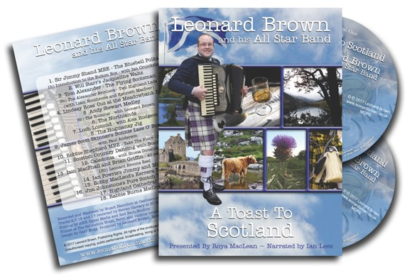 'A Toast to Scotland' covers