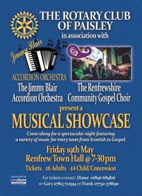 Musical Showcase poster
