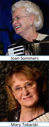 Joan Sommers and Mary Tokarski