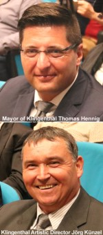 Mayor of Klingenthal Thomas Hennig & Jörg Künzel