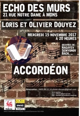Loris and Olivier Douyez Recital poster