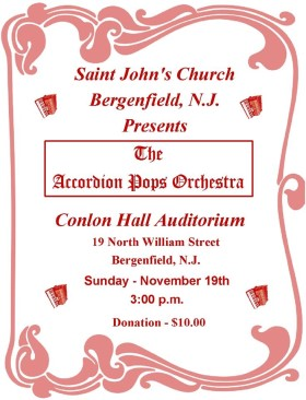 Accordion Pops Orchestra Poster