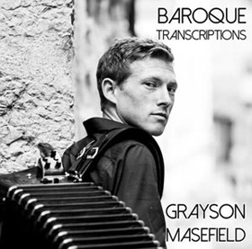 Baroque Transcriptions CD cover by Grayson Masefield