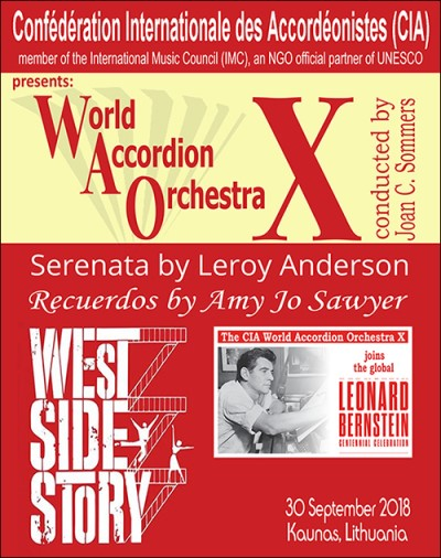 World Accordion Orchestra X