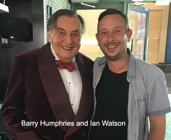 Barry Humphries and Ian Watson