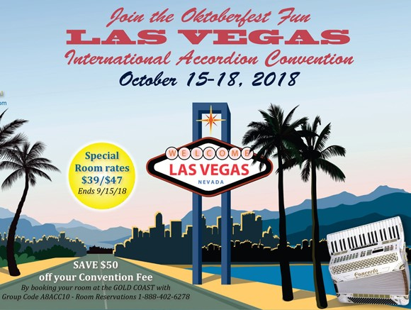 19th Annual Las Vegas International Accordion Convention