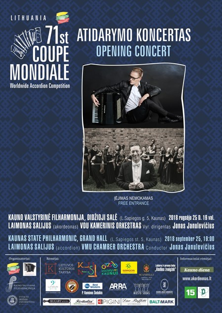2018 Coupe Mondiale Opening Concert poster