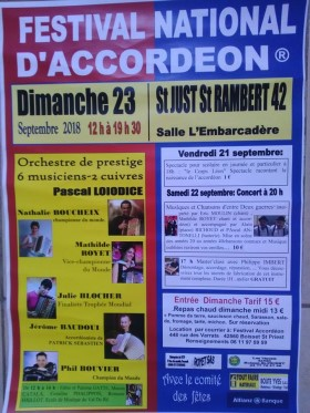 Festival National D'Accordeon,
