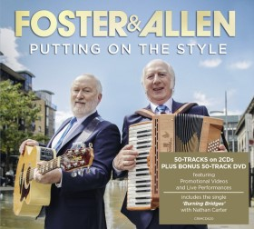 Foster & Allen new CD/DVD