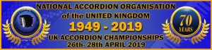 2019 NAO UK Accordion Championships