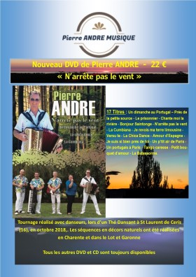 Pierre Andre DVD
