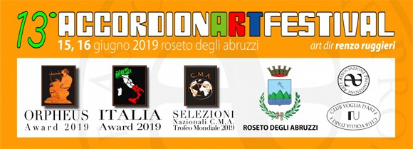 Accordion Art Festival Header