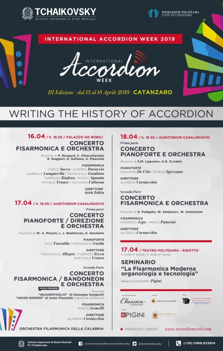 Accordion Week Poster