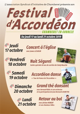 2019 Chamberet Accordion Festival