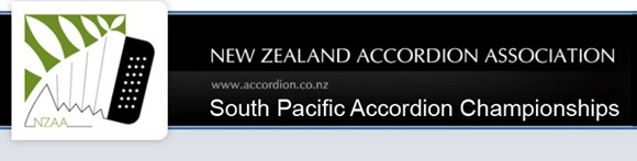 New Zealand Accordion Association Inc (NZAA) header