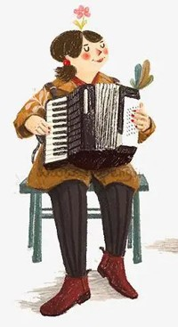 Accordion figure
