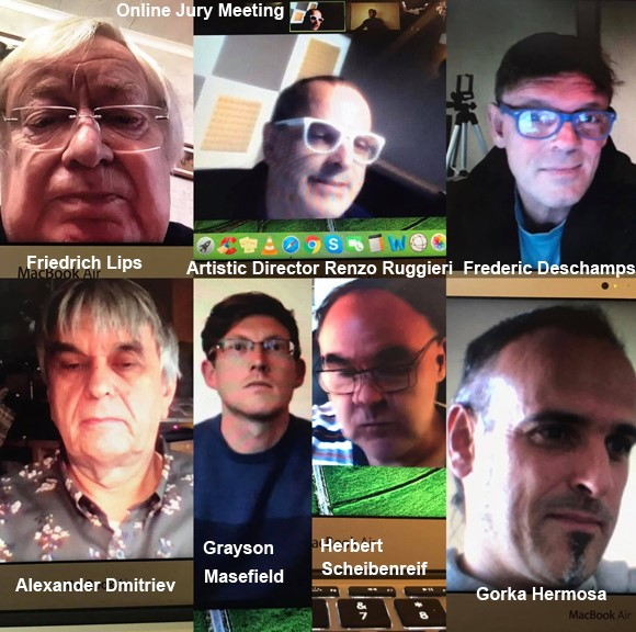 Jury online meeting