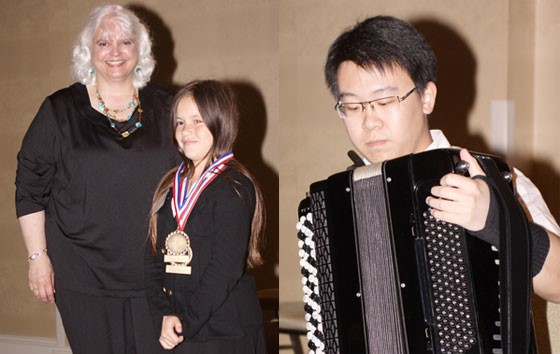 Dee Langley, Alexandra Reekie and Gao Yi Cheng