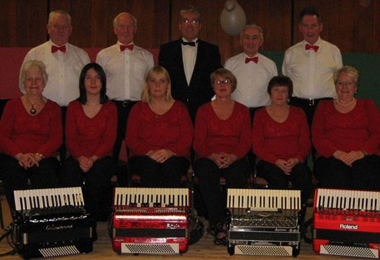 East Antrim Seniors Accordion Orchestra