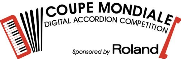 Coupe Mondiale Digital Accordion Category sponsored by Roland graphic