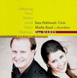 Duo MARES Esra Pehlivanli (Viola) and Marko Kassl (Accordion).