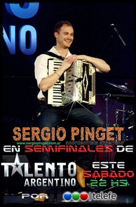 Sergio Pinget TV Talent poster