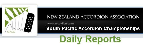 South Pacific Accordion Championships logo - New Zealand