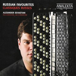 """Russian Favourites"" CD by Alexander Sevastian"