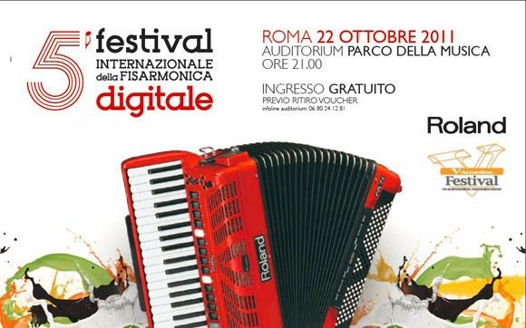 5th Roland V-Accordion Festival banner