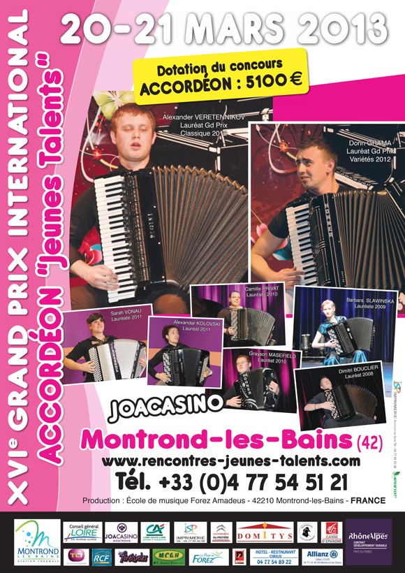 XV1 Grand Prix International, Montrond-les-Bains – France poster