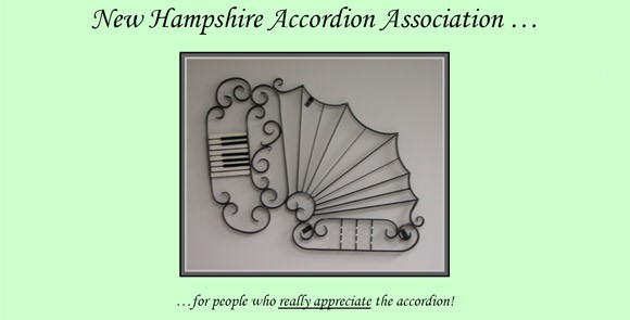 New Hampshire Accordion Association banner
