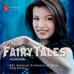 'Fairy Tales' CD by Ksenija Sidorova