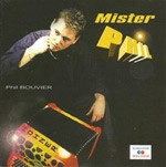 Mister Phil CD cover by Phil Bouvier