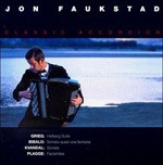 Classic Accordion CD cover by Jon Faukstad