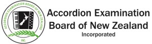 Accordion Examination Board of New Zealand header