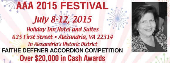 Faithe Deffner Accordion Competition
