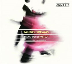 Tango Dreams CD cover by Alexander Sevastian