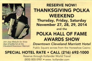 51st Thanksgiving Polka Weekend poster