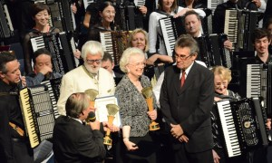 World Accordion Orchestra VIII conductors presentation