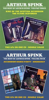 Arthur Spink CD Covers