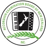 Accordion Examination Board of New Zealand (AEBNZ) logo