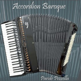 Accordion Baroque CD Cover by Paride Pezzolla