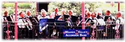 the Weaver Valley Accordion Band