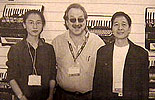 Barbara Fang Lin, John Hammond &  Mr Zeng
